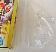 Engångsspritspåse i plast