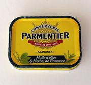 PARMENTIER Sardiner i olivolja och Herbes de Provence
