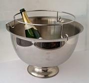 Champagnekylaren - Rosenskålen- för 5 flaskor