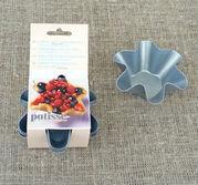 Veckad portionsform mini tulip 4 pck
