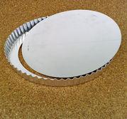 Pajform i rostfritt, 32 cm lös botten