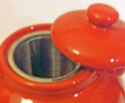 Plint Tekanna 2,5 L röd