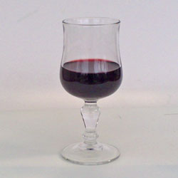Normandie rödvinsglas 24 cl