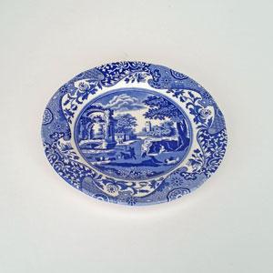Spode Blue Italian assiett 20 cm
