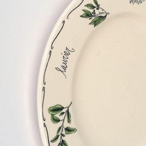 Mattallrik Kryddor 25 cm