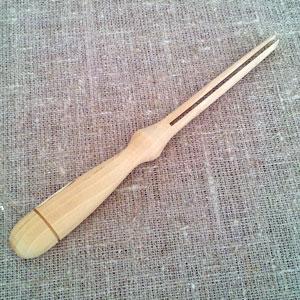 Rullpinne för rån i trä