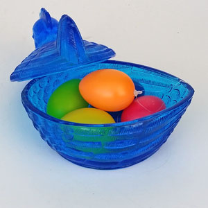 Ägghöna blå