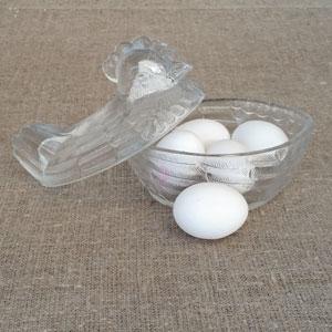 Ägghöna transparant