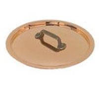 Lock i koppar 18 cm i diameter