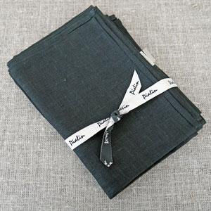 Linnelöpare svart 35 x 150 cm 2 pack