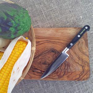 Sabatier grönskakniv 10 cm kolstål