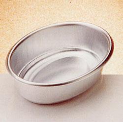 Oval slät form i aluminium,  20 cm 1 L
