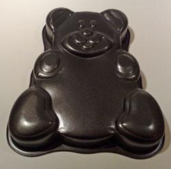 Tårtform nalle-nonstick  22 x 22 cm