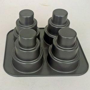 Tårtform 4 torn allergikertårta