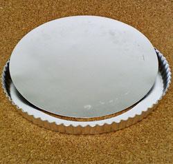 Pajform i aluminium 32 cm lös botten
