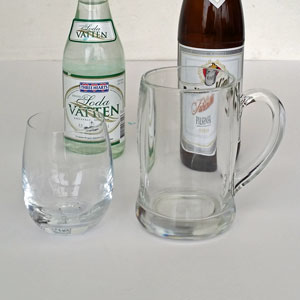 Vatten  öl